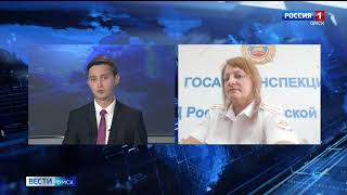 В Омской области продолжают расти ДТП с участием водителей мототранспорта