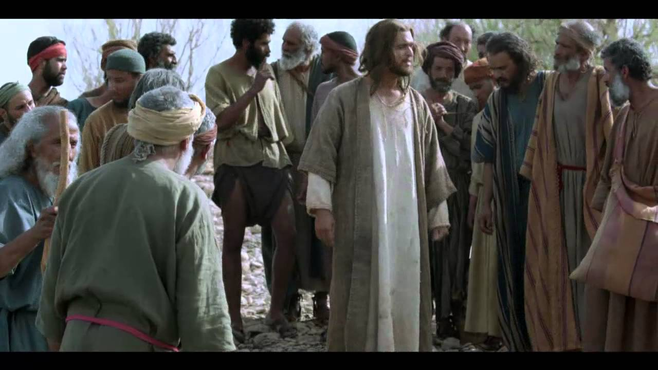 Parable of the pharisee and tax collector - 3 8