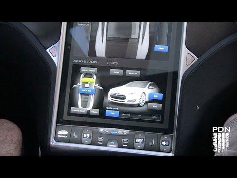 Bad Ass Control Panel - Tesla Dash