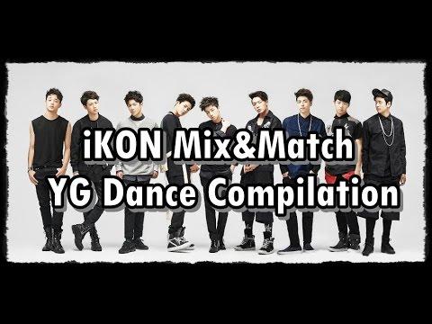 [HD] iKON Mix&Match YG Dance Compilation