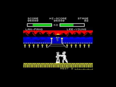 Juegos Olvidables: Yie Ar Kung Fu 2 (Imagine) Spectrum