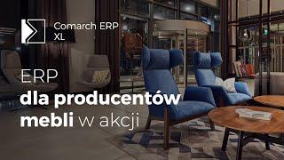 NOTI producent mebli używa systemu Comarch ERP XL