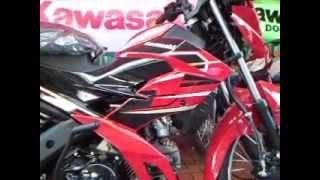 Red Kawasaki Fury 125R
