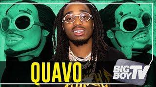 Quavo on Touring w/ Drake, Winning an AMA & His Relationship Status