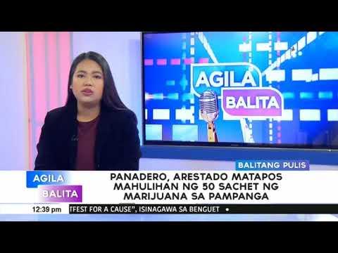 Panadero, arestado matapos mahulihan ng 50 sachet ng marijuana sa Pampanga