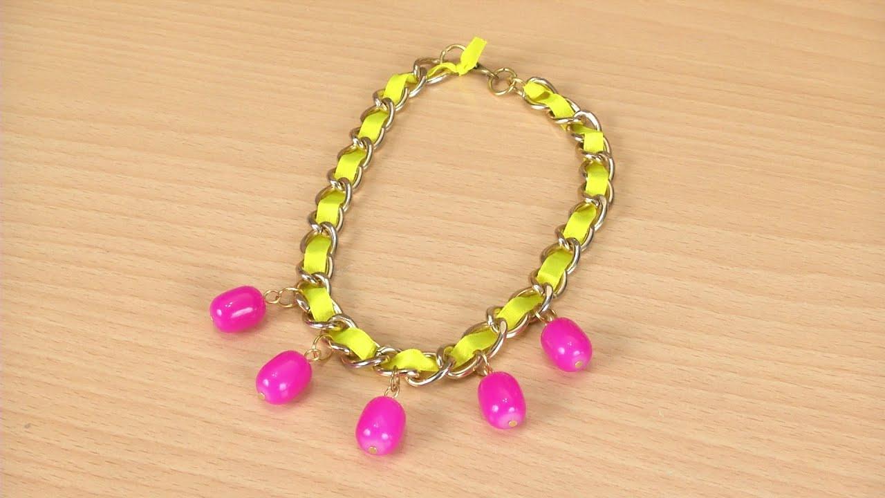 3965bbec43f0 Como hacer collares de perlas   Diseño de cortinas para salas