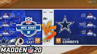 What if the NFC East COMBINED into One SUPER Team? Madden 20
