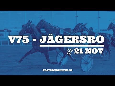 V75 tips Jägersro | 21 november