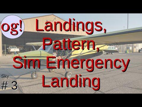 Sky 3: Landings and Simulated Emergency Landing at KAJZ
