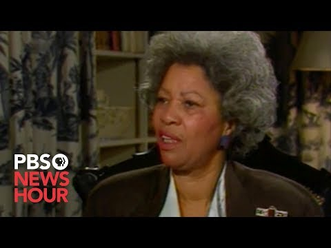 WATCH: Toni Morrison on capturing a mother's 'compulsion' to nurture in 'Beloved'