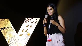 Never settle for something your heart  doesn't want. | Geethika Kanumilli | TEDxVBIT