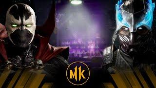 Mortal Kombat 11 - Spawn Vs Blizzard King Sub Zero (Very Hard)