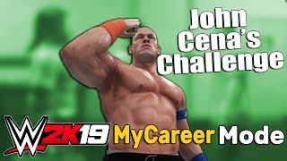 John Cena Has an Open Challenge For Us - WWE 2K19 My Career Mode Story