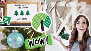 DOLLAR TREE Christmas DIYS that look expensive *NEW 2019*