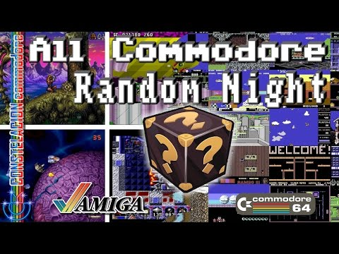 All Commodore Systems Random Night