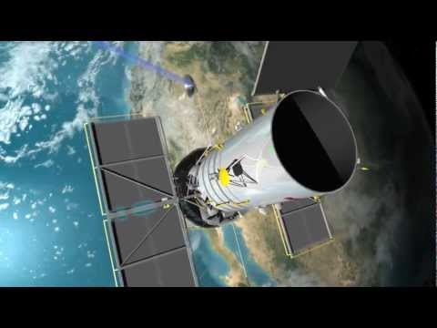 Data Communication Animation for NASA's Tracking and Data Relay Satellite Program (TDRS)