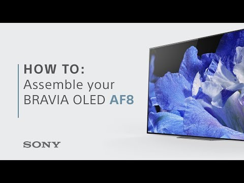 Assembly Guide FY18: BRAVIA OLED AF8