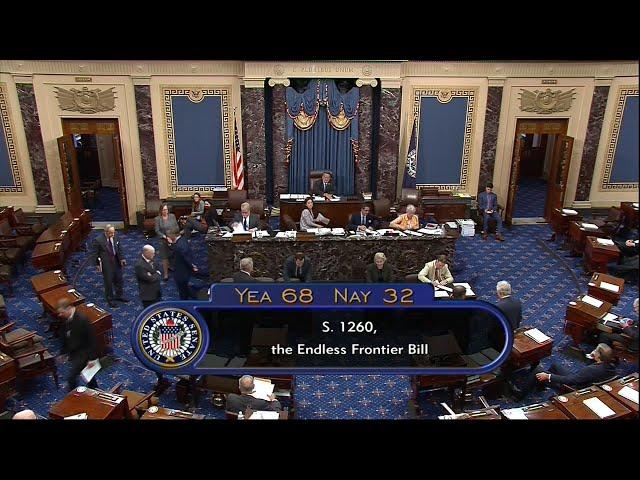 力抗中國科技戰 美參議院通過「創新及競爭法案」
