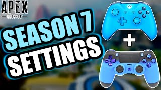 BEST CONSOLE SETTINGS TO USE IN APEX LEGENDS (SEASON 7)