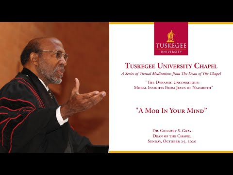 Tuskegee University Virtual Meditations from The Dean of The Chapel 10/25/20