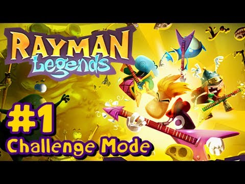 Repeat youtube video Rayman Legends Wii U - Challenge Mode App - Part 1