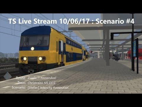 [Stefan] Intercity Roosendaal (Livestream 10/06/17)