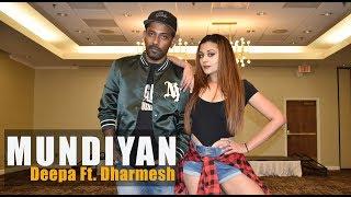 Mundiyan - Baaghi 2 | Deepa Iyengar & Dharmesh Yelande | Bollywood Dance Choreography