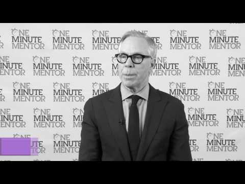 Hearst One Minute Mentor: Tommy Hilfiger on Success