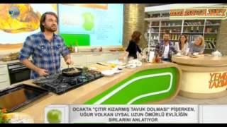 Yemek Takımı Çıtır Kızarmış Tavuk Dolması Tarifi Canlı izle 21.11.2013