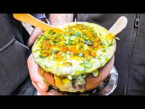 Category video tasty indian street food tour deep in varanasi india messy cheap curry and vegetarian heaven forumfinder Choice Image