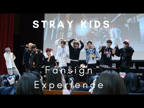 180113 Stray Kids Fansign Experience 스트레이키즈 팬싸인