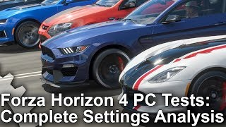 Forza Horizon 4 - PC Analysis