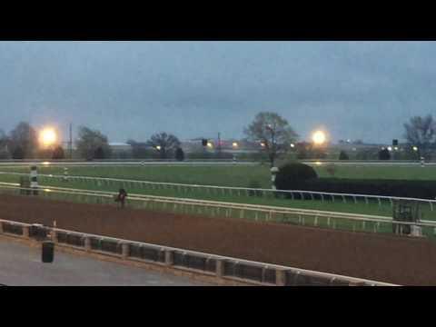 Mo Borubon breeze at Keeneland 4-1-17