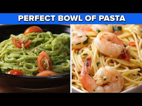 Make The Perfect Bowl Of Pasta With These Recipes ? Tasty Recipes