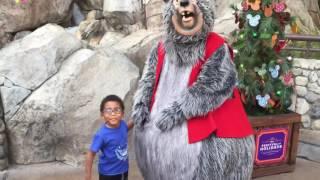 Jaxton meets The Country Bears' Big Al