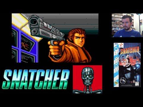 SNATCHER (Mega CD / Sega CD) - Una gran historia de Hideo Kojima || Gameplay en Español
