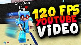 120 FPS YOUTUBE VIDEO TEST! (MINECRAFT UHC PVP)