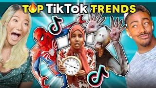 Do Teens ACTUALLY Like TikTok? | Teens React To Top TikTok Trends (Don't Leave Me Challenge, HA HA)
