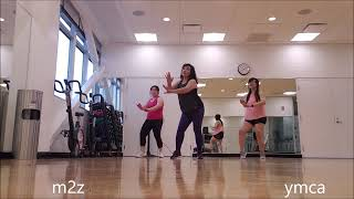 easy danzfit  dancing with stranger sam smith, normani