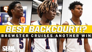 Best Backcourt in the Country⁉️ Brewster Cruises to Another Win