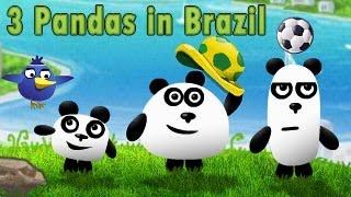 3 pandas in brazil walkthrough, guide and cheats