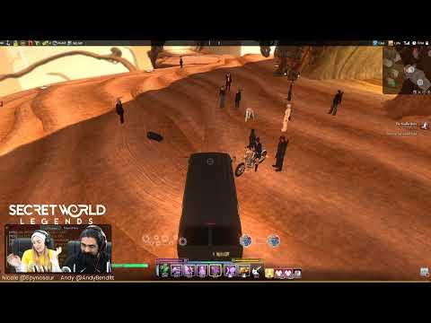 Wednesday Durham Stream - Secret World Legends