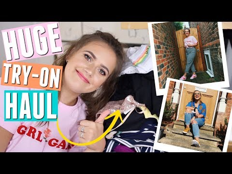 HUGE Try-on Spring/Summer clothing haul | ASOS, TopShop, MissGuided & MORE! | EmmasRectangle
