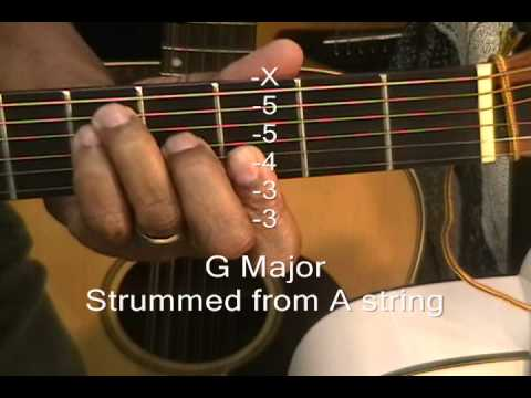 how to play g major chord 6 different ways on a guitar ericblackmonguitar youtube. Black Bedroom Furniture Sets. Home Design Ideas