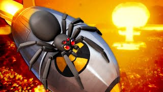 Nuclear Fire To End All Spiders - Kill It With Fire