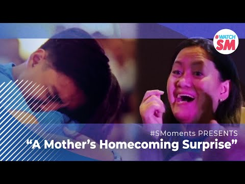 A Mother's Homecoming Surprise