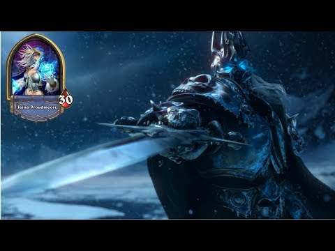 Hearthstone: The Lich King with Druid Deck