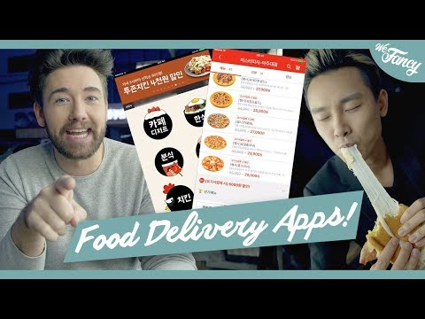 How To Order Food Delivery in Korea
