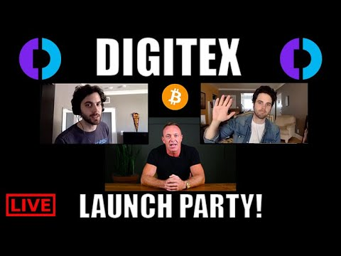 DIGITEX Launch Party! Interview With CEO ADAM SCOTT [Cryptocurrency News Online]