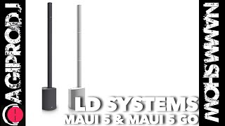 LD SYSTEMS MAUI 5 GO - WHITE in action